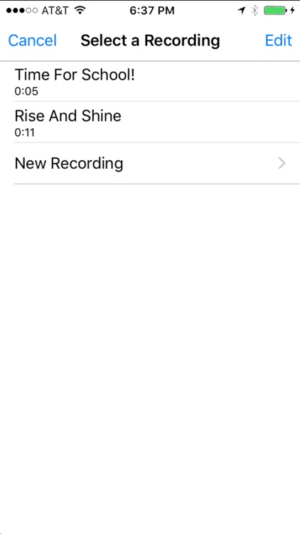 My Voice Alarm screenshot-3