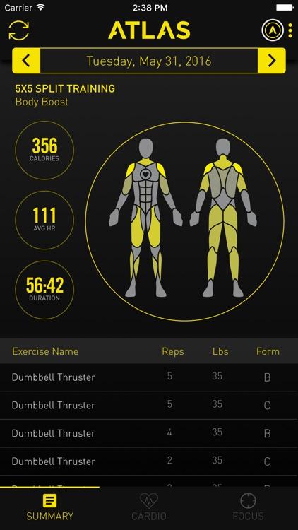 Atlas Workout Tracker