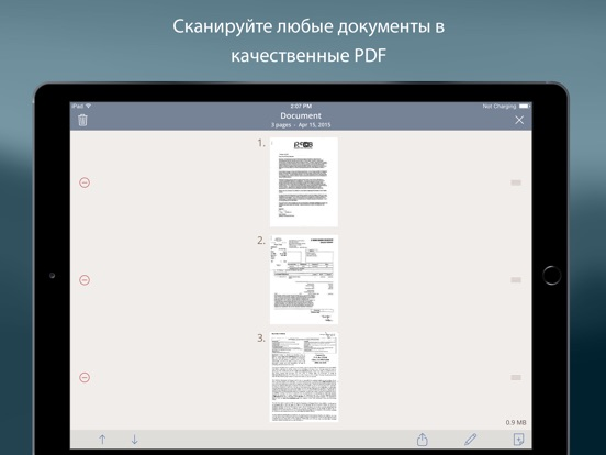 Турбоскан: быстрый сканер документов и чеков Screenshot