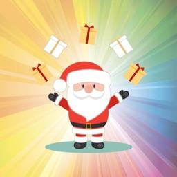 Happy Santa Claus for Christmas - Fx Sticker