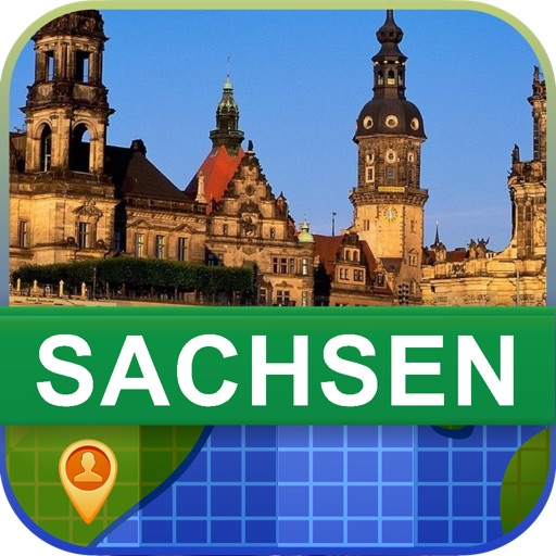 Offline Sachsen, Germany Map - World Offline Maps