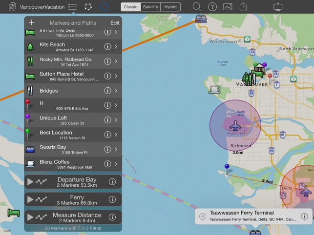 Mapprojector create and present maps on the app store ipad screenshots gumiabroncs Gallery