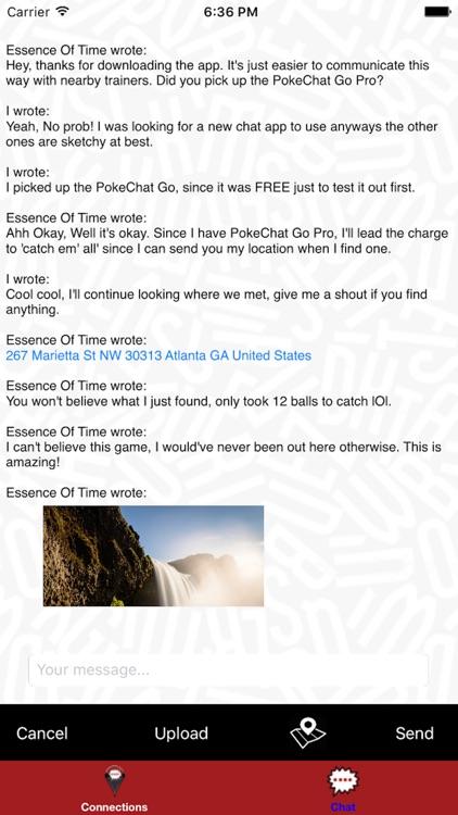 PokeChat: Chat Companion For Pokemon Go