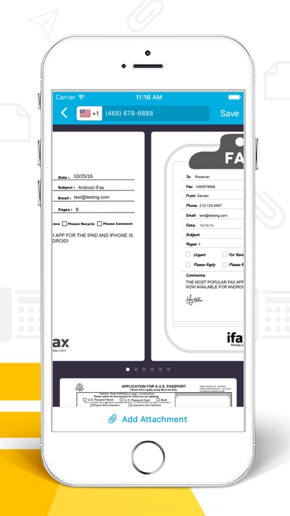 iFax - Send Fax & Receive Fax for iPhone or iPad app image