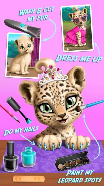 Baby Animal Hair Salon 2 screenshot-4
