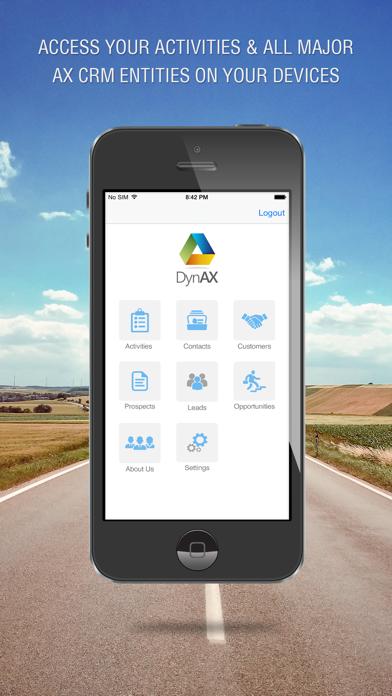 DynAX App for Dynamics AX CRM 1