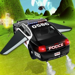 Flying Police Car: Flight Simulator 2016 Car Chase