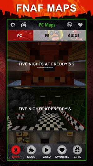 FNAF Maps FREE - Map Download Guide for Five Nights At Freddys
