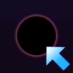 Black hole clicker