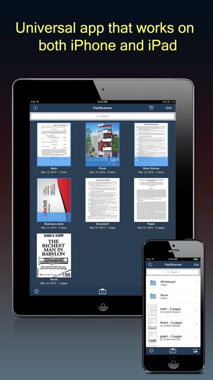 Fast Scanner : PDF Doc Scan screenshot-4