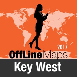 Key West Offline Map and Travel Trip Guide