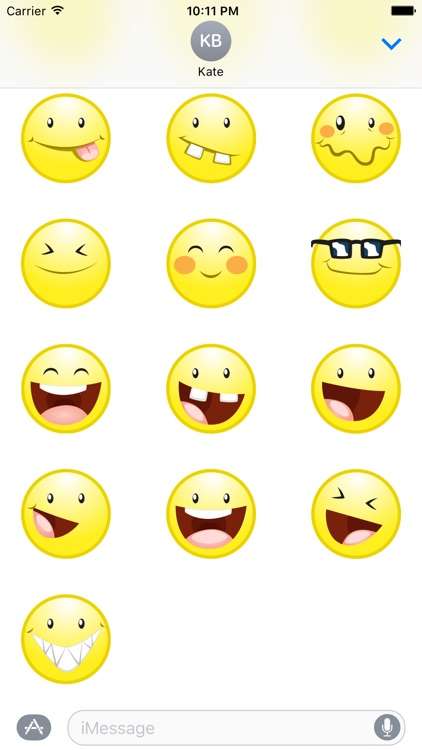 Geek Emoji Stickers for iMessage
