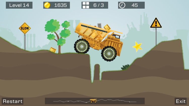 Big Truck Lite -Mine Express screenshot-4