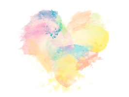 Watercolor Stickers For iMessage