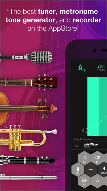 Tunable - Tuner & Metronome screenshot-0