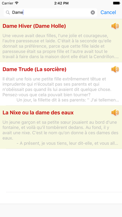 Contes de Grimm - 110 Audio Contes screenshot three