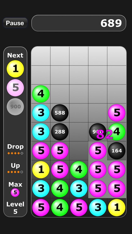 Numbers Addict Free Candy Splash screenshot-1