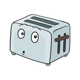 Toaster Stickers - Best emoji for breakfast