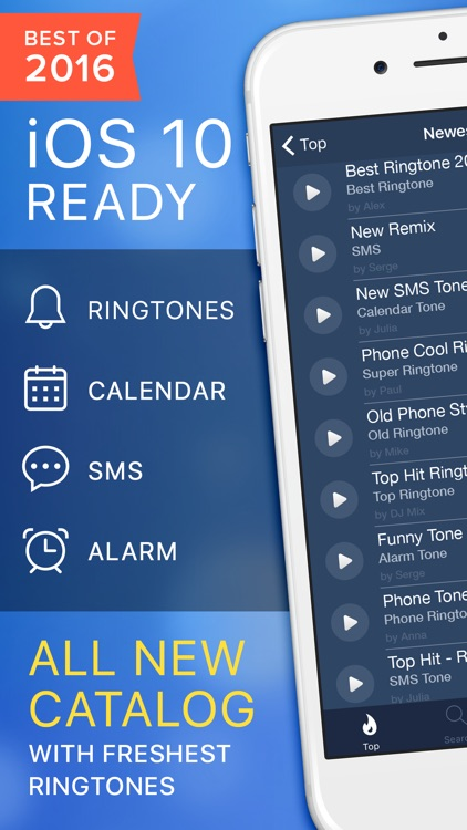 Ringtones for iPhone Unlimited. app image