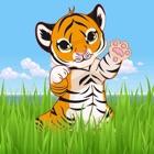 Baby Tiger Run-Aventura comer carne para prosperar icon