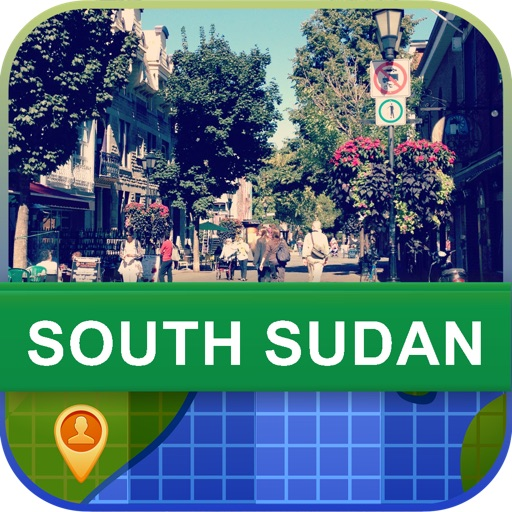 Offline South Sudan Map - World Offline Maps