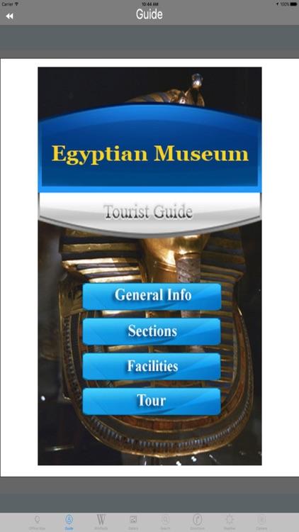 Egyptian Museum Cairo Egypt Tourist Travel Guide screenshot-3
