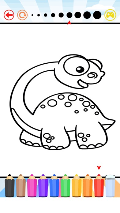 Dinosaur Coloring Book All Pages Free For Kids Hd App