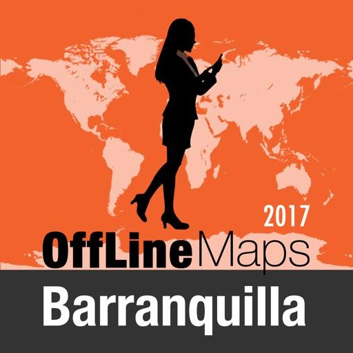 Barranquilla mapa offline y guía de viaje