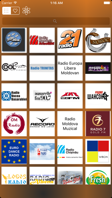Radio Moldova - Music Player