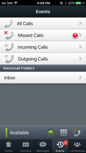 Avaya one-X® Mobile Preferred for IPO on the App Store