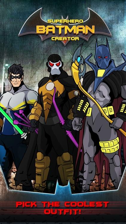 SuperHero Legend Creator for Bat-Man V Super-Man screenshot-3