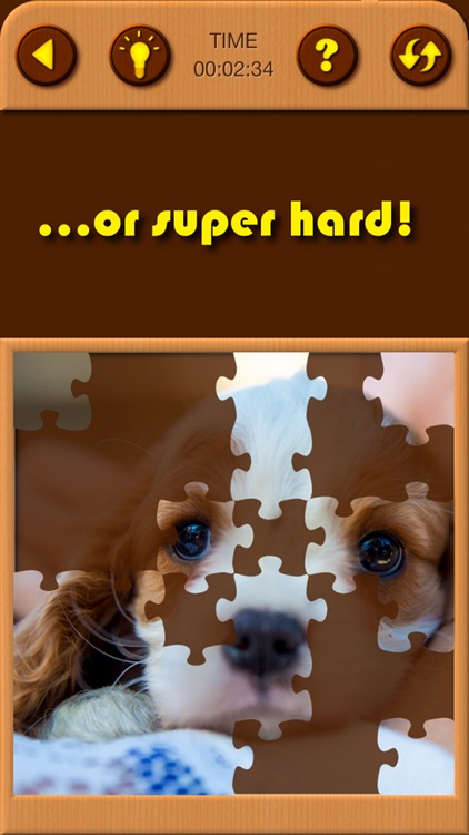 Puppy Pet Jigsaw Puzzle Cute Baby Dog Animal Games screenshot-3