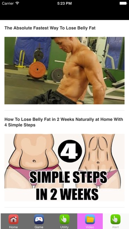 Lose Stomach Fat & Belly Fat