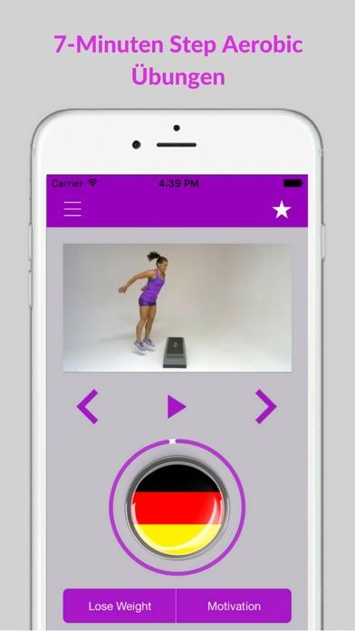 Step Aerobics Workout & Fitness Übungs RoutinenScreenshot von 1