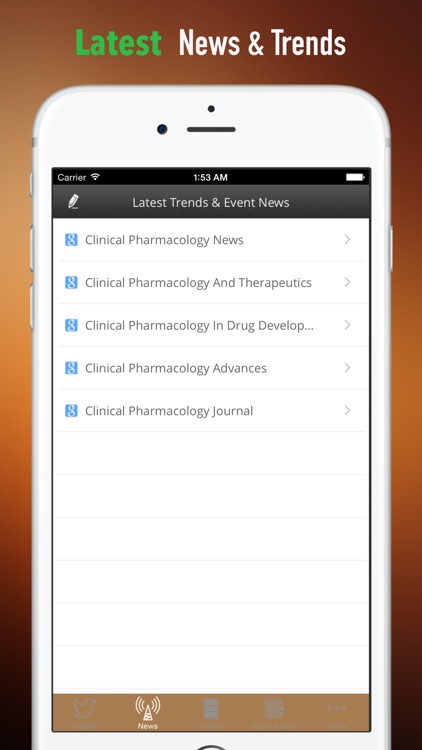 Clinical Pharmacology:Basics and News screenshot-3