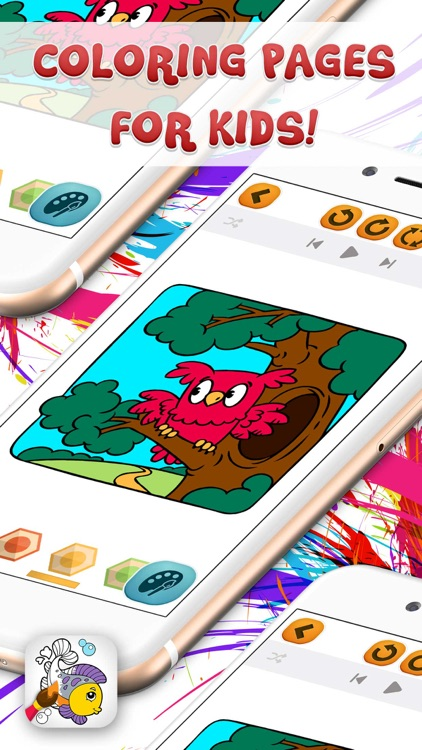 Doodle Kids Coloring Games
