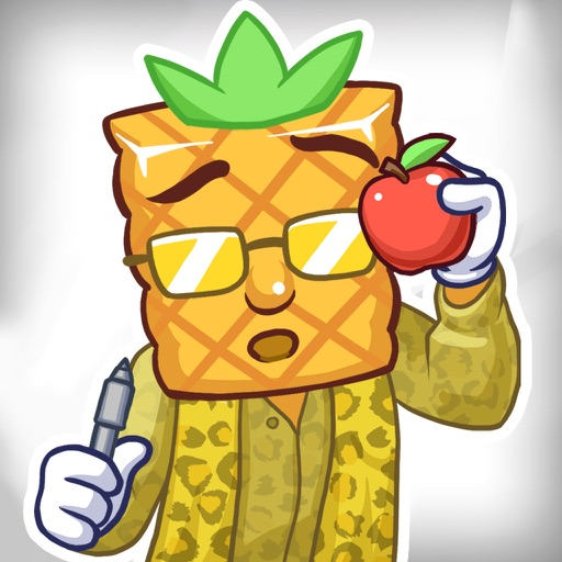Pineapple Guy Apple Pen - Mannequin Challenge