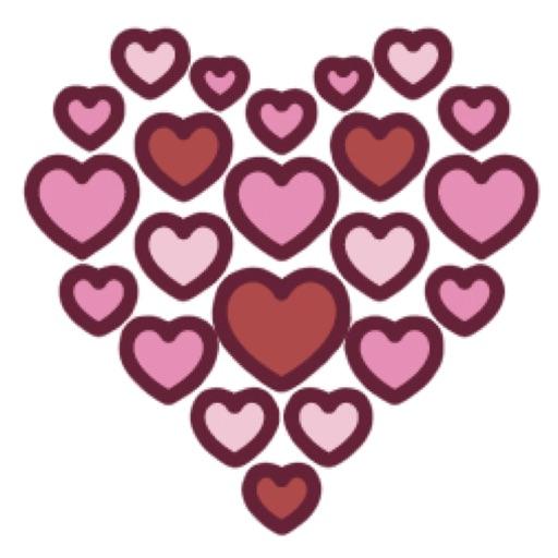 Valentine Love Stickers