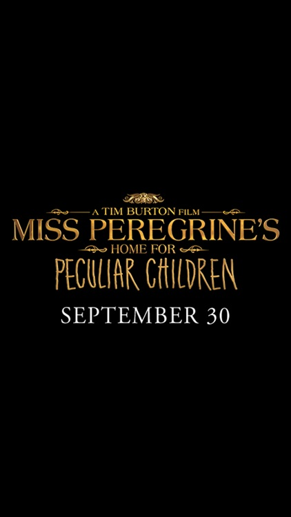 Miss Peregrine's Stickers screenshot-4