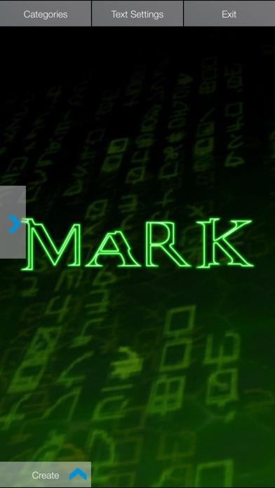 Screenshot for Neon Wallpaper Maker in Denmark App Store