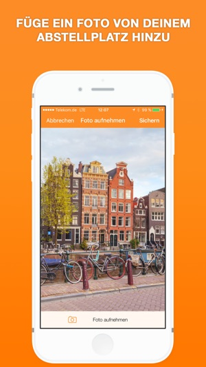 Find My Bike - Fahrrad & Motorrad  Parken Tracker Screenshot