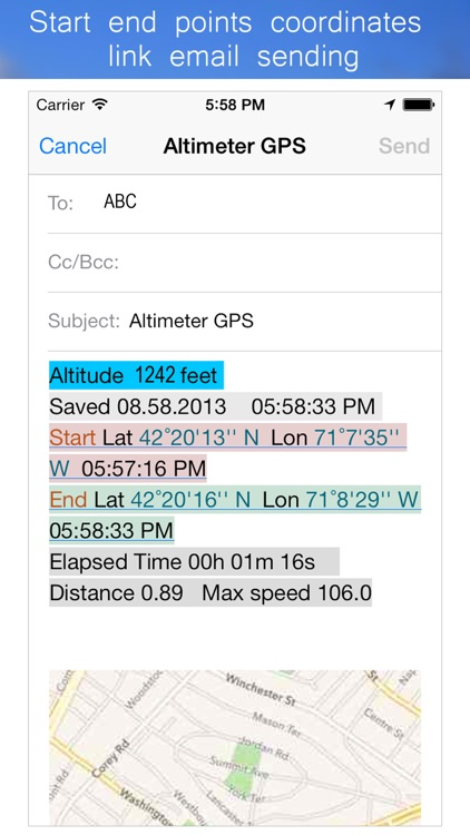 Altimeter GPS Hike Tracker screenshot-4