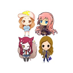 Chibi Girl Emoji - Sticker