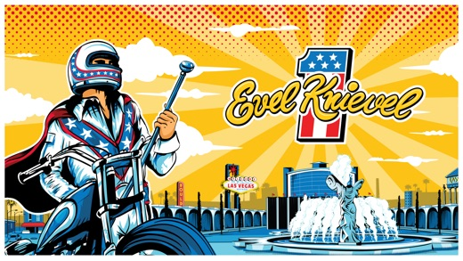 Evel Knievel Screenshot