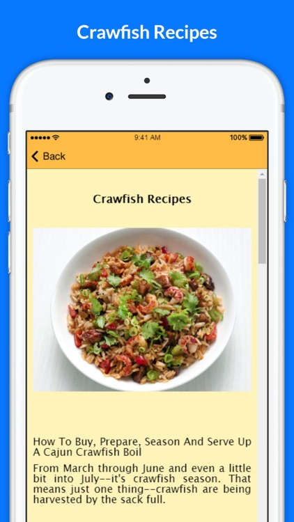 A+ Crawfish Recipes screenshot-2