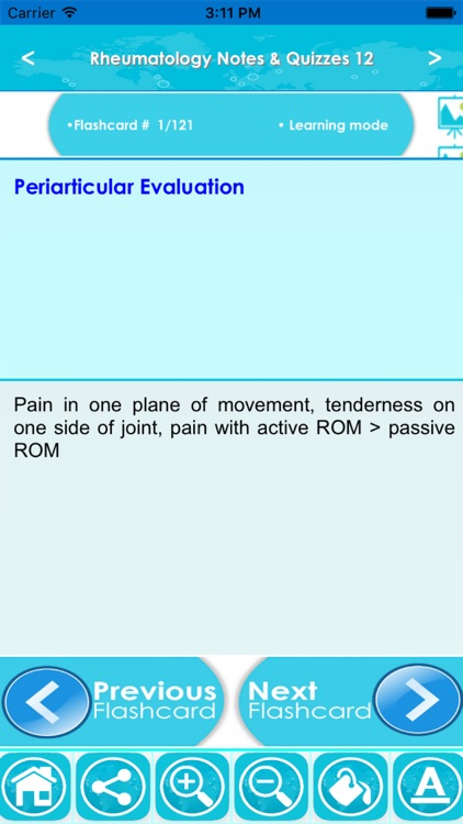 Rheumatology Exam Review App- 6200 Terms & Quizzes