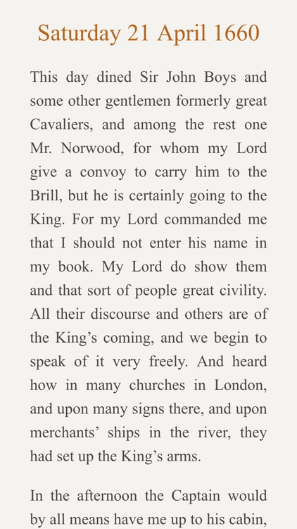 Pepys Diary screenshot-1