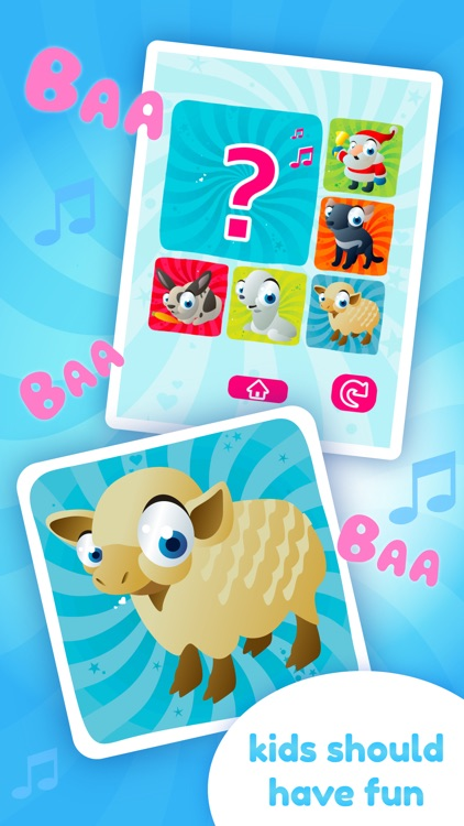 Baby Sounds Game - Learning Game for Kids (No Ads) screenshot-4