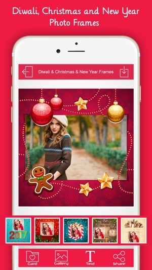 New Year Photo Frame: Diwali & Christmas Frames on the App Store