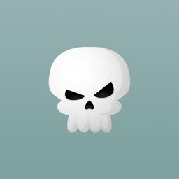 Skully Emoji Stickers